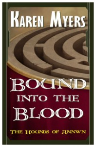 Bound into the Blood - Full Front Cover - Widget