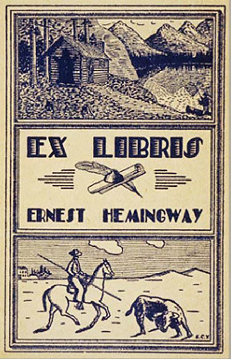 HemingwayBookplate
