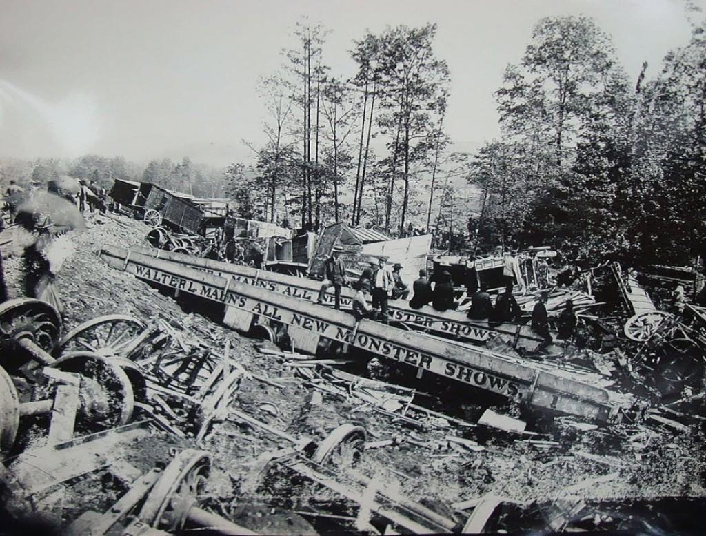 Circus Train wreck 1