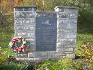 Walter L. Main Circus Train Wreck Memorial