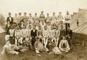 Walter L Main circus folks, 10 years later (1904-5)