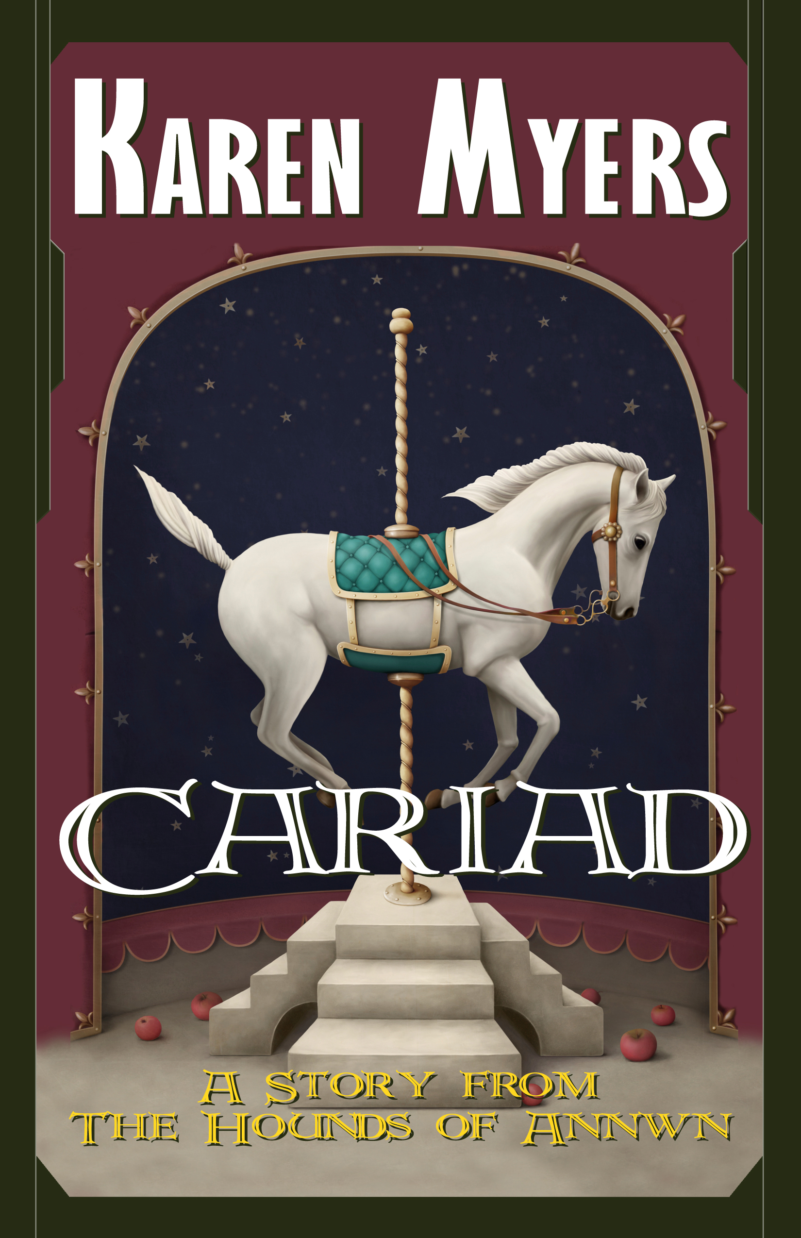 Cariad - Full Front Cover - Symmetrical