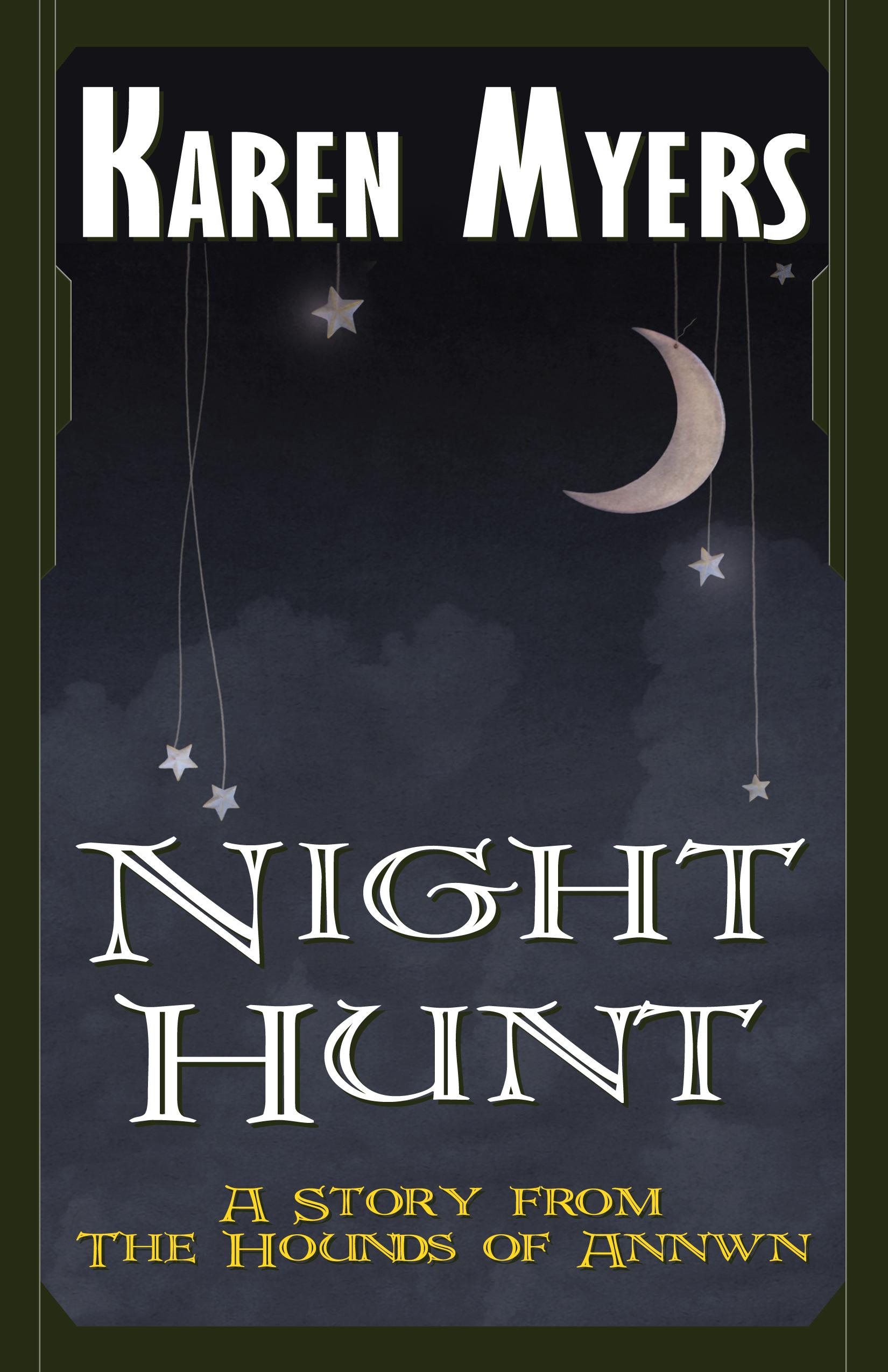 Night Hunt - Full Front Cover - Symmetrical