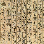 Cursive hieroglyph