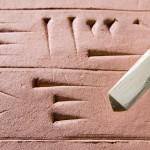 Cuneiform tablet & stylus