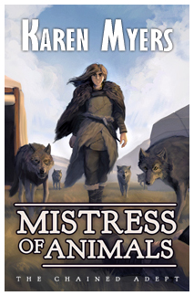 Mistress of Animals - Full Front Cover - Widget