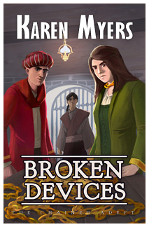 Broken Devices - Full Front Cover - Widget