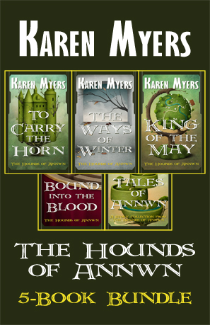 Hounds of Annwn Bundle - 1-5 - Full Front Cover - 297x459
