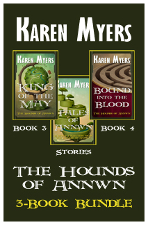 Hounds of Annwn Bundle - 3-5 - Full Front Cover - Widget