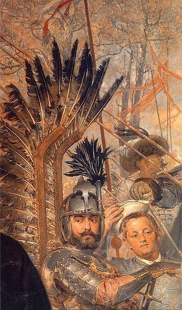 Polish winged hussars http://wikivisually.com/wiki/Stanis%C5%82aw_%C5%BB%C3%B3%C5%82kiewski
