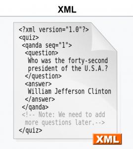 Image of XML example