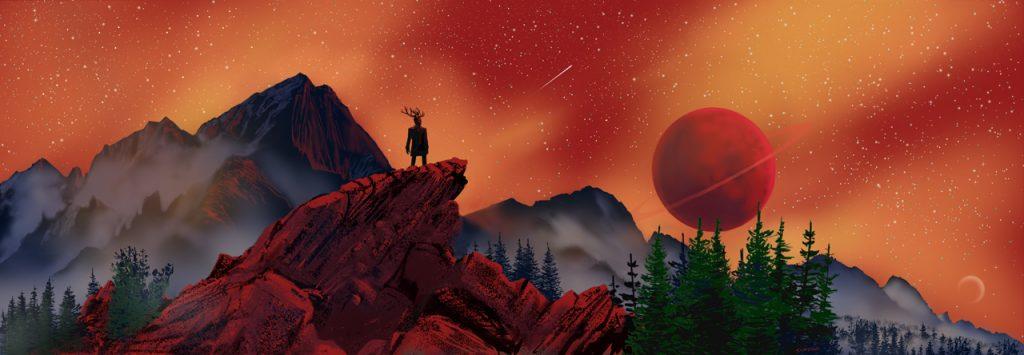 Image of a fantasy landscape
