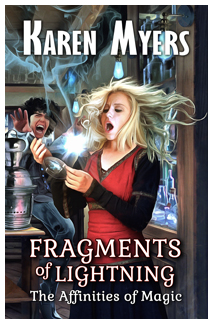 Image of the cover of Fragments of Lightning