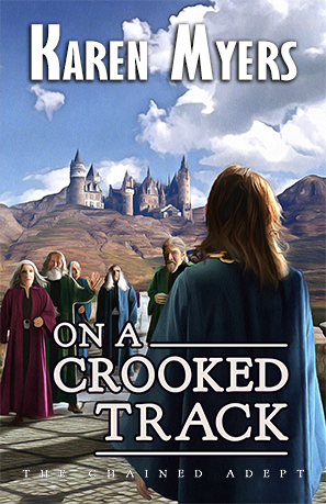 Cover for On a Crooked Track