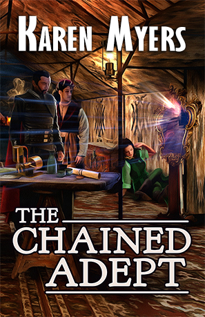 Cover for The Chained Adept